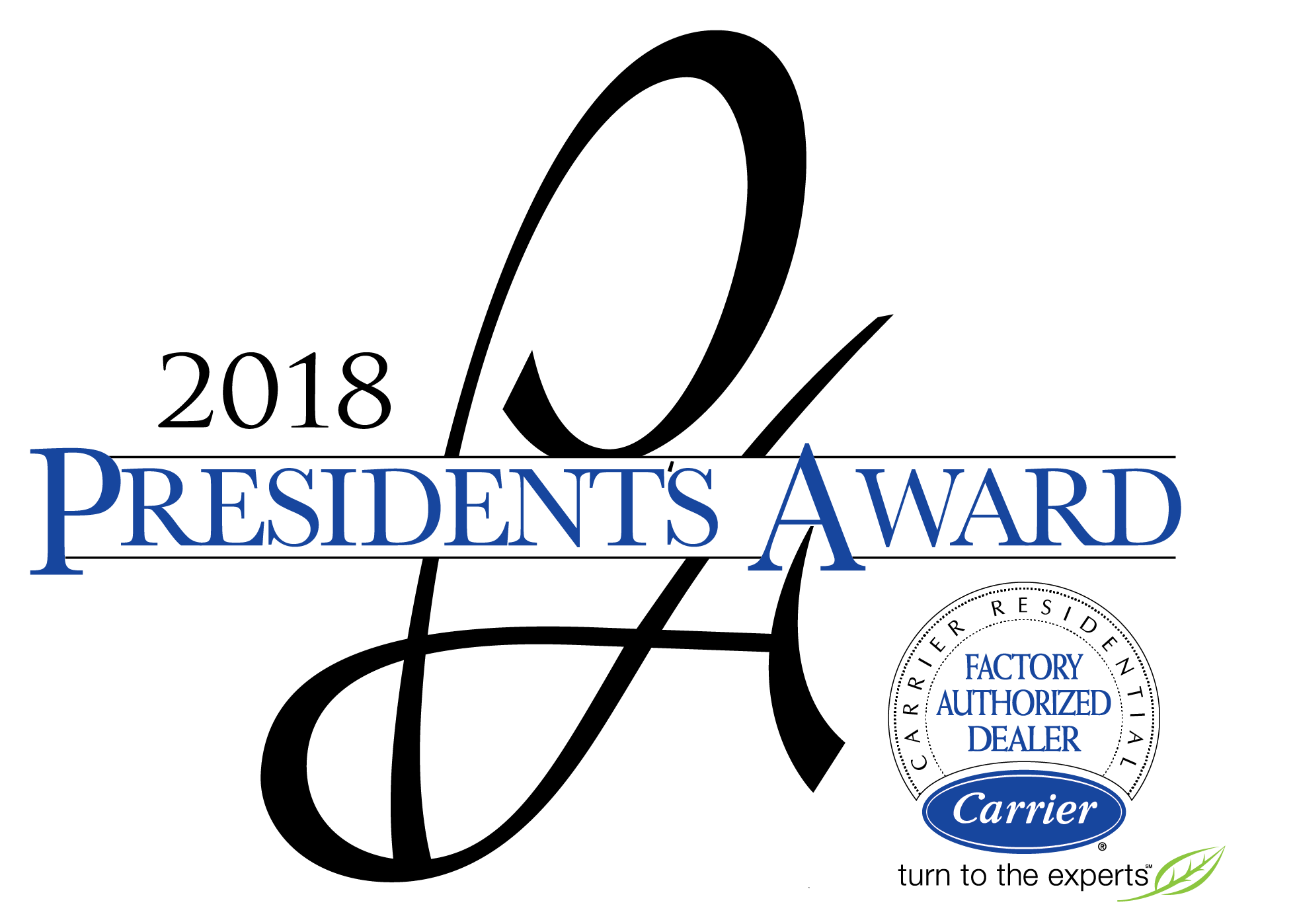 2018 presidents award logo